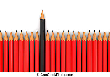 Pencils (clipping path included) - Pencils. Image with...