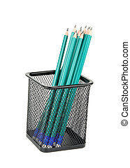 pencils in support