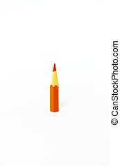 Pencils orange