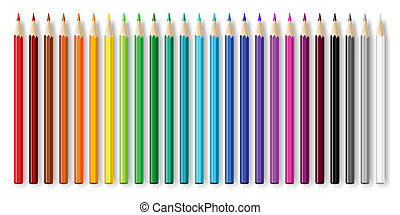 Pencils set.