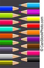 pencils - coloured pencils