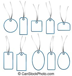 Pendant Collection - white and blue