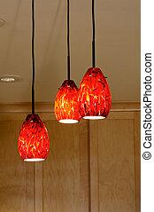 Pendant Lights in Kitchen