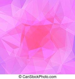 pendenza, astratto, quadrato, triangolo, fondo.