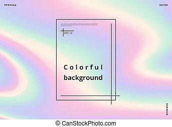 pendenza, holographic, 03109_v_background