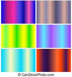 pendenza, multicolor, collezione