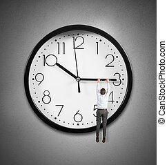 pendre, temps