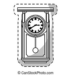 pendulum clock icon image