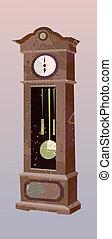 Pendulum Clock - stylized pendulum clock