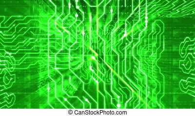 """Penetrating Inside Salad Electronic Board. Loop."" - ""A..."