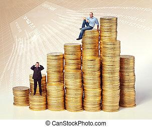 pengar, affär