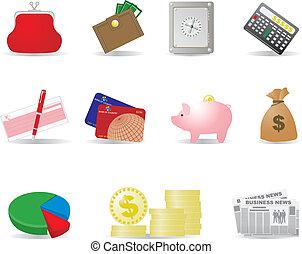 pengar, affärsverksamhet ikon
