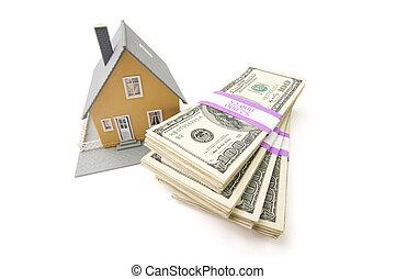 pengar, buntar, isolerat, hem