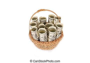 pengar, ena hundra dollar, lagförslaget, hög