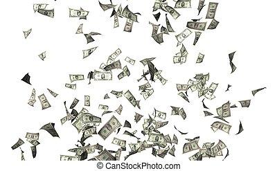 pengar, flygning