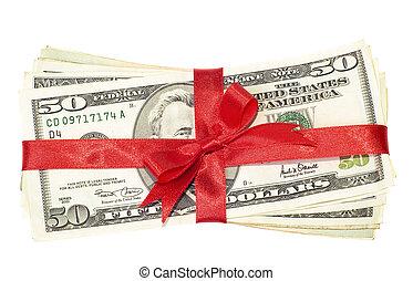 pengar, gåva