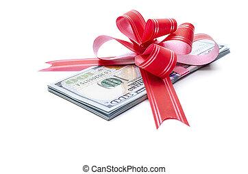 pengar, gift.