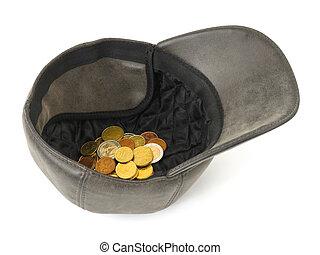 pengar, hatt