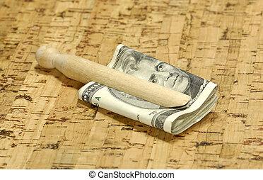 pengar, laundered