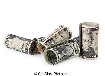 pengar, oss