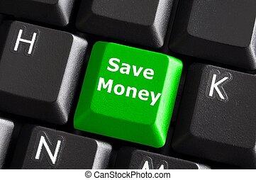 pengar, räddning