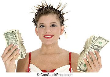 pengar, spenderande