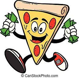 pengar, spring, pizza