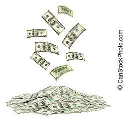 pengar, stjärnfall