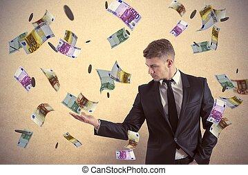 pengar, tjäna