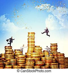 pengar, utmaning