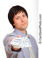 penge, branche mand