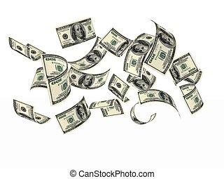 penge, dollare