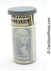 penge, i tiltagende