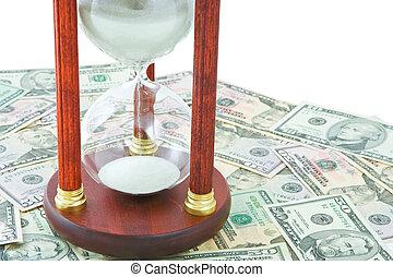 penge, tid