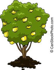 penge træ