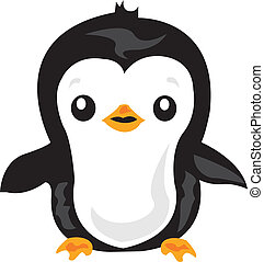 Penguin - A vector illustration