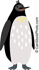Penguin arctic animal cartoon icon
