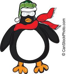 Penguin Big Cool Scarf