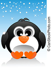 Penguin - Illustration