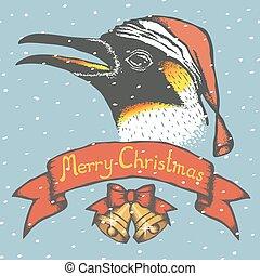 Penguin vector illustration. Illustration of cute antarctic...