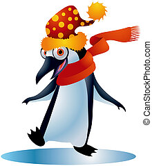 Penguins #3 - A clipping path is included in the JPG ...