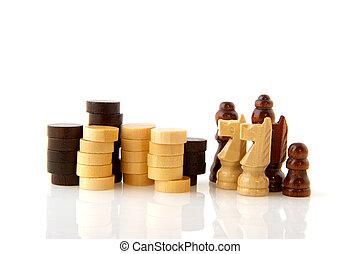penhores, verificadores, xadrez