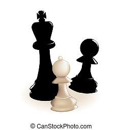 penhores, xadrez