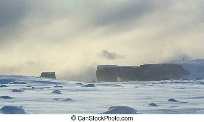 Peninsula Dyrholaey in Iceland - Peninsula Dyrholaey in...