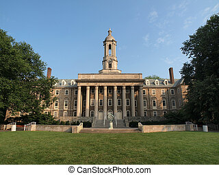 Penn State Old Main - Old Main building at Penn State...