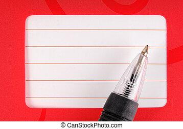 penna, anteckningsbok, dagbok, ram