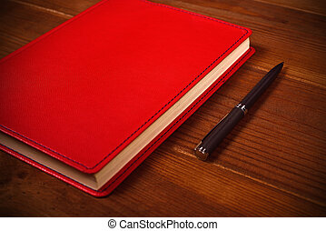 penna, dagbok