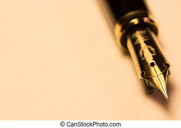penna, fontana