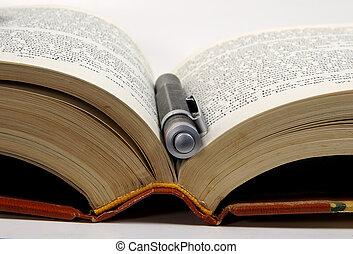 penna, libro, 3