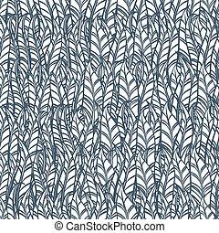 penna, vettore, pattern., seamless, illustrazione